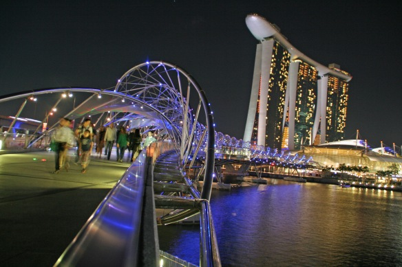 You can't even say you've been to Singapore until you've seen (and squealed about) Marina Bay