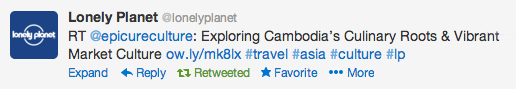 The Lonely Planet read my work - I almost fainted :D