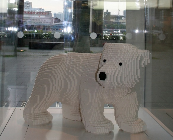 The call of the Lego-polar bear is not one to be ignored!