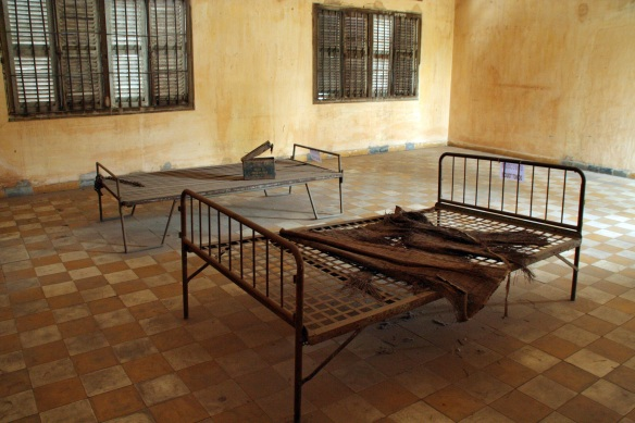 One of the prison rooms at S-21