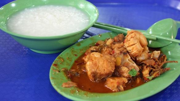 Rice Porridge and Shark Meat