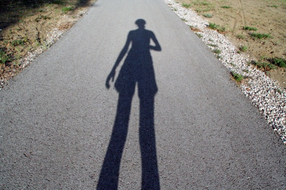 My shadow is soo tall!! :D