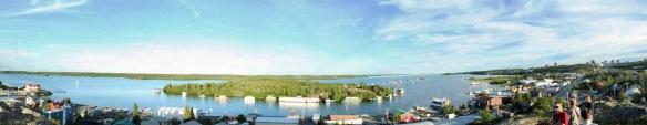 Whoo hoo! I learned how to create panorama shots!