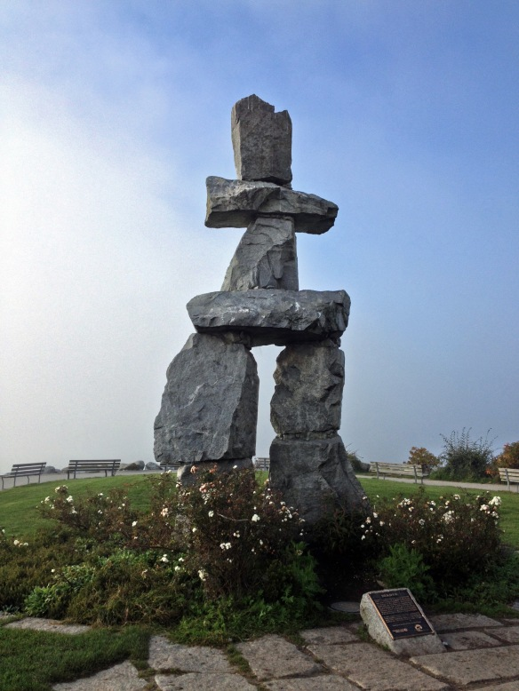 Any place with an Inukshuk is automatically awesome