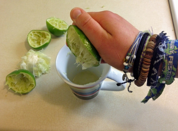 I also felt like more of a badass for destroying limes this way as well!