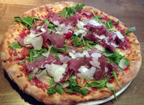 ... or some Prosciutto Di Parma Pizza